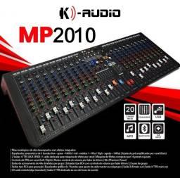 Mesa k áudio 20 canais, top!