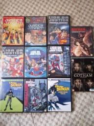 DVDs Liga da Justiça & Variados.