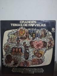 LP\Disco de Vinil - Grandes Temas de Novelas - 1974 - Raro