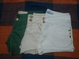Vendo Shorts Morena Rosa Novos M/38