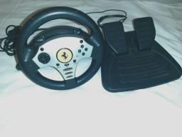 Título do anúncio: Controle simulador de volante + Pedal