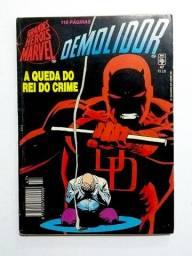 Demolidor - A Queda do Rei do Crime (GHM n. 47) [Marvel | HQ Gibi Quadrinhos]