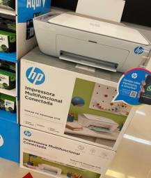 Impressora HP multifuncional conectada