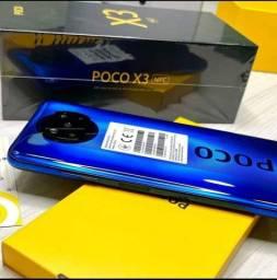 Lançamento XIOAMI - NFC - Poco X3 128/6/64 MP / MIUI 12