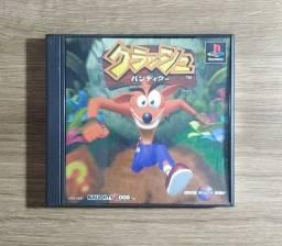 Título do anúncio: Crash Bandicoot - Playstation 1 [ORIGINAL - JP]