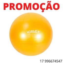 Bola suiça premium 75cm amarela- live up