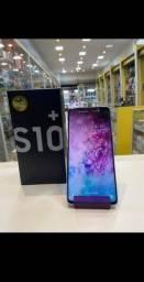 Samsung galaxy s10+ plus impecável com caixa carregador e fone original