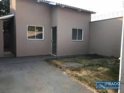 Casa com 2 dormitórios à venda, 68 m² por R$ 140.000 - Setor dos Bandeirantes - Trindade/G