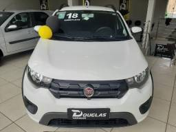 Luxo. Fiat Mobi 1.0 WAY - 2018 - completo