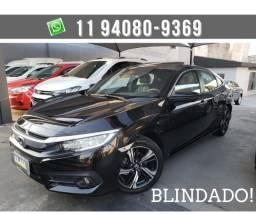 Honda Civic Touring 1.5 Turbo CVT 2017 Blindado nivel 3