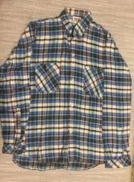 Camisa flanela infantil