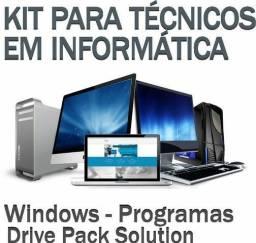 DVD Pen Iso Windows 7, 8.1 ou 10+Office 2019 Permanente Envio Digital