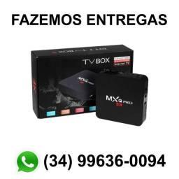 Tv box 4G/32G Transforma tv em Smart