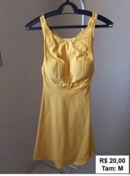 Título do anúncio: Vestido amarelo