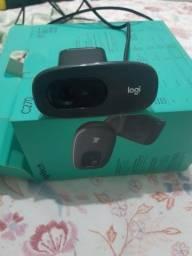 Webcam logitecg c270 impecável