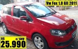Vw Fox 1.0 GII 2011 c/ GNV