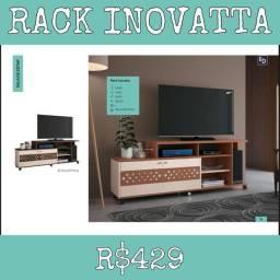 Rack Inovatta Sala de estar escritório Rack tv 656