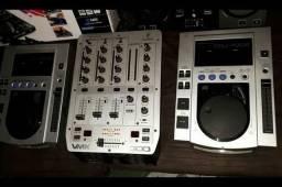 Cdj Pioneer 100s e mixer vmx300