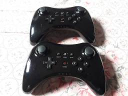 Wii U Pro Controler + Wii Remote + Nunchuck