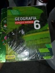 Livro de geografia 6° ( espaço e vivencia )
