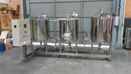 Equipamento para produção de Cerveja Artesanal