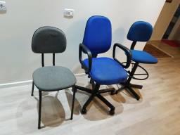 Kit de cadeiras para escritório e secretária