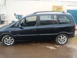 Gm - Chevrolet Zafira ano 2001 banco de couro vendo ou troco agio leia o anuncio - 2001