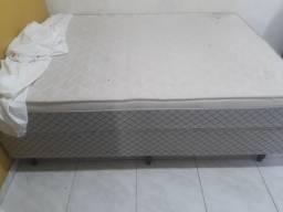 Colchão e cama box plumatex casal