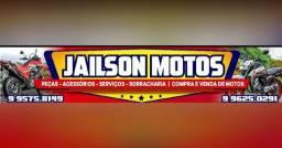 Peças, acessórios, serviços, borracharia, compra e venda de motos