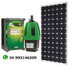 Kit Bomba Solar Anauger P100 Poço e Cisterna 8.600L dia