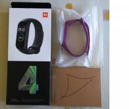 Smartwatch Xiaomi Mi Band 4 Versão Global+pelicula+pulseira reserva