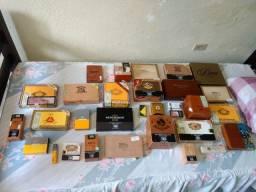 Vendo coleção de caixa de charutos