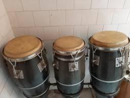 Tumbadora(gongas) tripla usada