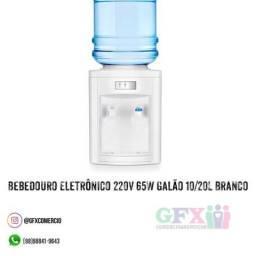 Bebedouro Eletrônico 220V 65W Galão 10/20L Branco