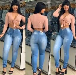 Calças jeans top
