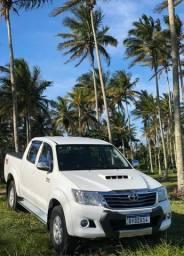 Hilux SRV 4x4 diesel automática 2014 baixo km - 2014