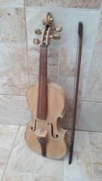 Rabeca 3 cordas Impecável ( Artesanal )
