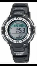 Relógio seminovo Casio, modelo Outgear Sgw-100, mais barato da olx Ceará