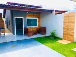 D.P casa com acabamento refinado bem localizada