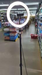 Ring light 26 cm com tripe 2.10