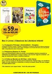 BOX 3 LIVROS | CLÁSSICOS DA LITERATURA INFANTIL
