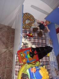Mini cama mais colchão  bom estado de conservação