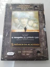 DVD O resgate do soldado Ryan - Ed. Limitada comemorativa de 60 anos do dia D + Brinde