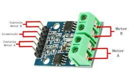 Mini Ponte H Arduino