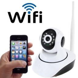 Kit câmera de segurança alarme residencial comercial ip sem fio hd 720p 1.3 Wi-Fi