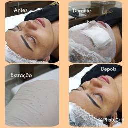 Título do anúncio: Limpeza de pele + massagem facial +hidratação facial