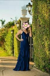 Maravilhoso Vestido de Festa Azul