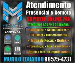 Técnico em informática - Atendimento Residencial e Remoto (formatação e outros serviços)