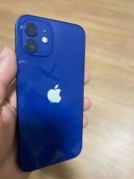 Iphone 12 64gb Azul (Impecável)