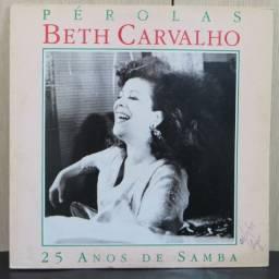 Lp Disco de Vinil Beth Carvalho - Pérolas *com encarte